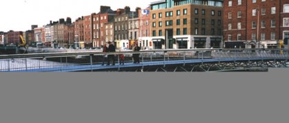 Milleniun Bridge, Dublin