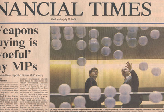 Front cover of the FT